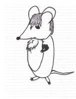 virexius as a mouse by Virexius