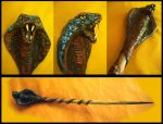 Serpent Magic Wand by LunaSolare1