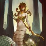 medusa queen homm III by soft-h