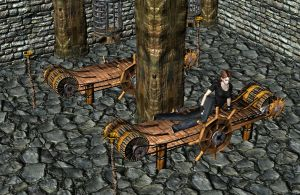 'Dragon Age: Origins' Arl Howe torture chamber XPS by lezisell