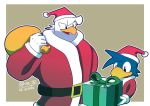 Santa Mike and Alex by riodile