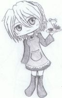 A CHIBI MAID by HAPPLES-XD