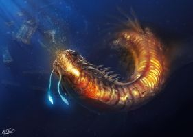 Sea Dragon by franeres