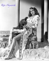 Rita Hayworth 2 by HalloweenMAGE