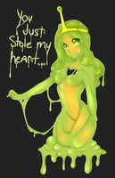 Slime princess by punipaws