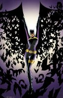 Batgirl Commission Colors by sorah-suhng