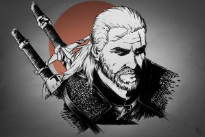 Geralt of Rivia by NicoFari