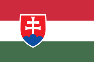 Flag of Hungarians in Slovakia by hosmich