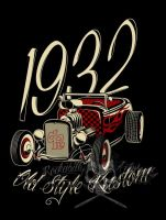 1932 Old Style Kustom  2 Color by actionrokka