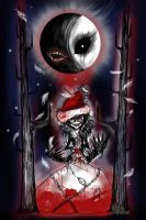 Bloody Christmas by RavenBlackCrow