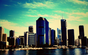 Brisbane CBD by cnrd