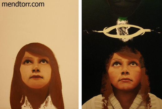 process of oil painting without a title yet by Mendtorr