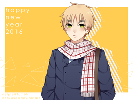 .:aph:. happy new year 2016 by neruskie
