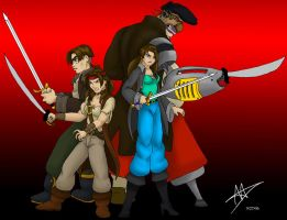 Dolphy and Jim Join the Battle by DisneyFan-01