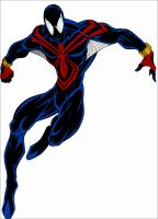 Spider-Man Black Design - Colored Version by Roach97
