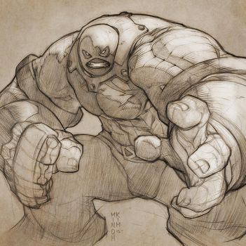 Colossus is Juggernaut!! by MinohKim