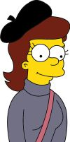 Young Mona Simpson ( Homer Simpsons Mum ) by frasier-and-niles