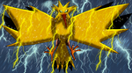 Shiny Zapdos by DragonessBlue