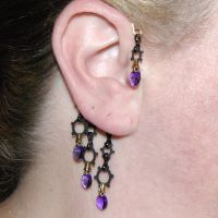 Purple industrial ear wrap v2- SOLD by YouniquelyChic