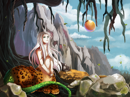 The Twelve Kingdoms - Haku Sanshi by Silvercresent11
