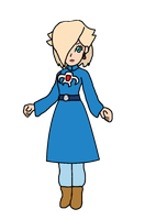 Rosalina - Nausicaa (Blue Dress) by KatLime