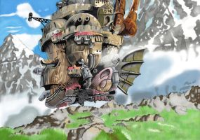 Howl's Moving Castle by MT-Artwork
