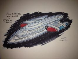 U.S.S. Kestrel sketch by stourangeau