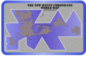 New Haven World Map -1 by Jon-Michael-May