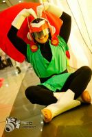 The Saiyaman Gohan Cosplay by jeffbedash325