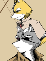 James and Wolf by s-azma