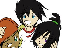 Very Old DP Trio picture D: by mimidan