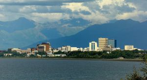 Anchorage from The Lookout by gworks