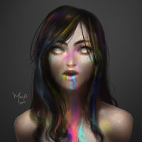 Rainbow - Speedpainting by CONEJOTO