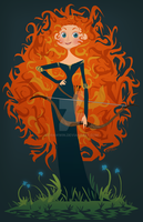 Merida by drawwin