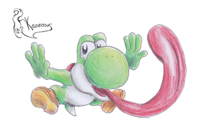 -Yoshi by kanineious