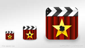 Film Seyret Icon by uuryilmaz