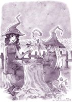 two witches by meteor-echo
