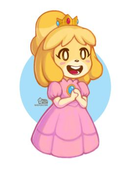 Princess Isabelle by daisyein