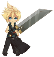 Cloud Strife by WanNyan