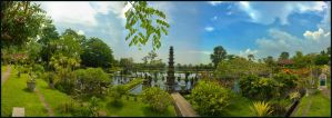 Le Water Palace de Tirtagangga Part 2 by partoftime
