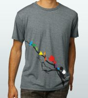 Angry Birds T by Emberblue