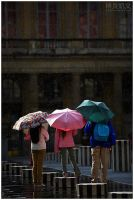 Paris Sunshower by superkev