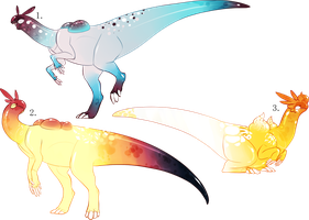Degoon Adopts (sky edition) batch (closed) by MrGremble