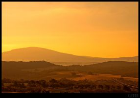 provence sunset by klefer