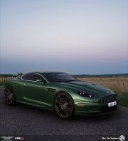 Aston Martin DBS by AfroAfroguy