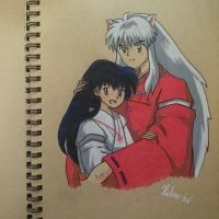 InuYasha and Kagome by THfreaken