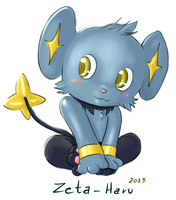 Shinx by Zeta-Haru
