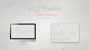 Wallpaper - eOS Pebble v2 by garcib