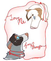Forever, and Ever. by onlyhalfpigeon