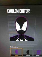 Black Suit Spidey. Black ops 2 emblem. by SimpleTheSaviour